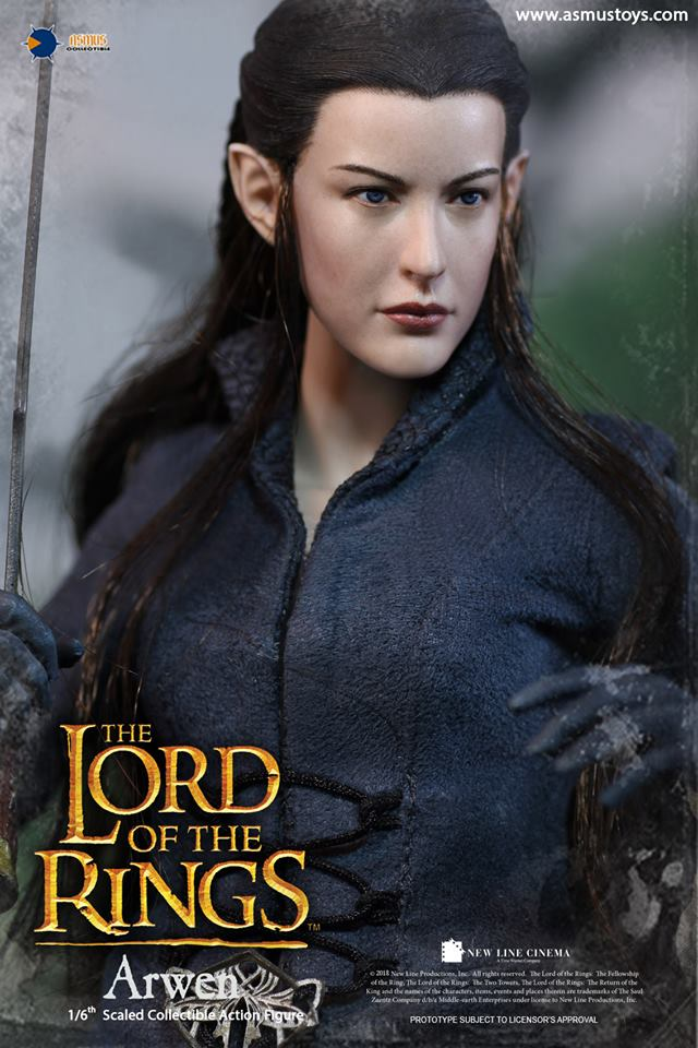 NEW PRODUCT: ASMUS: 1/6 SCALE THE LORD OF THE RINGS SERIES: ARWEN 410