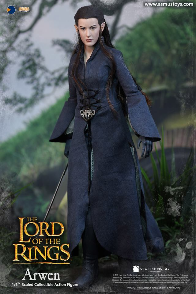 NEW PRODUCT: ASMUS: 1/6 SCALE THE LORD OF THE RINGS SERIES: ARWEN 510