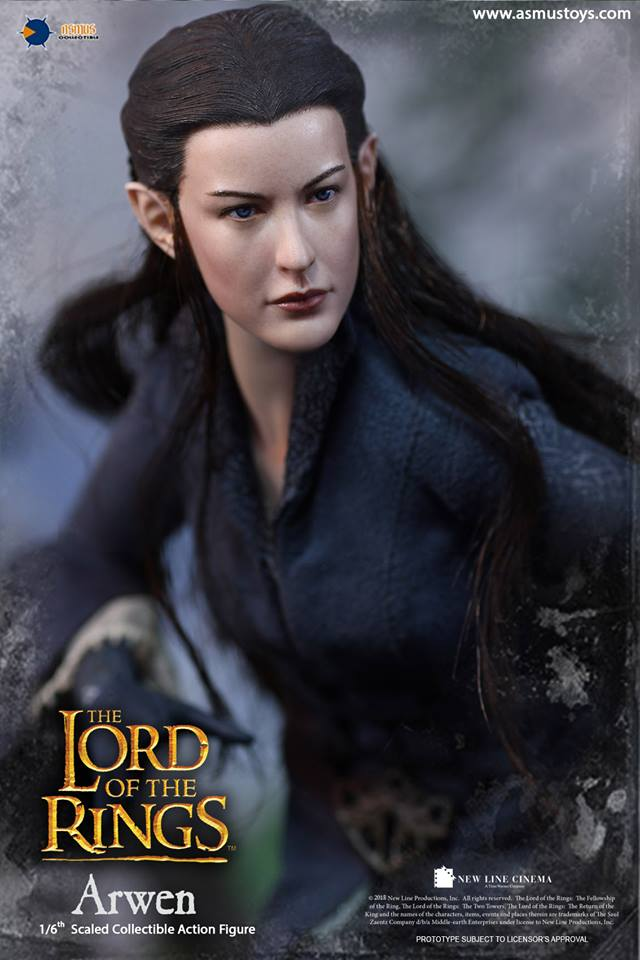 NEW PRODUCT: ASMUS: 1/6 SCALE THE LORD OF THE RINGS SERIES: ARWEN 610