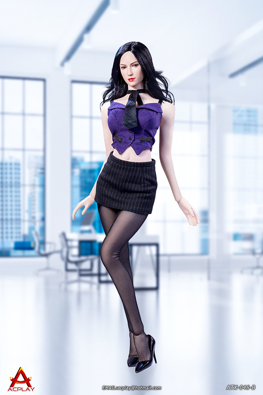 NEW PRODUCT: ACPLAY New: 1/6 ATX046 sexy female secretary costume set - a total of three colors 613