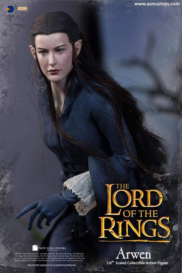 NEW PRODUCT: ASMUS: 1/6 SCALE THE LORD OF THE RINGS SERIES: ARWEN 710