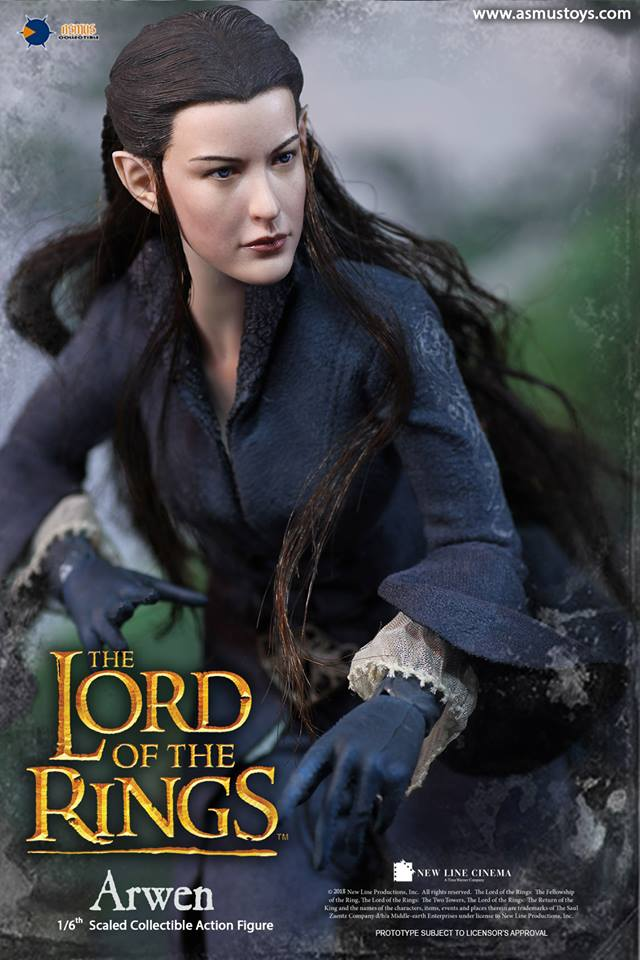 NEW PRODUCT: ASMUS: 1/6 SCALE THE LORD OF THE RINGS SERIES: ARWEN 810