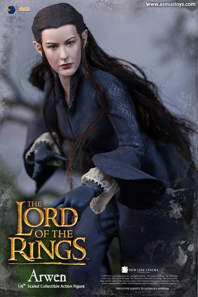NEW PRODUCT: ASMUS: 1/6 SCALE THE LORD OF THE RINGS SERIES: ARWEN 910