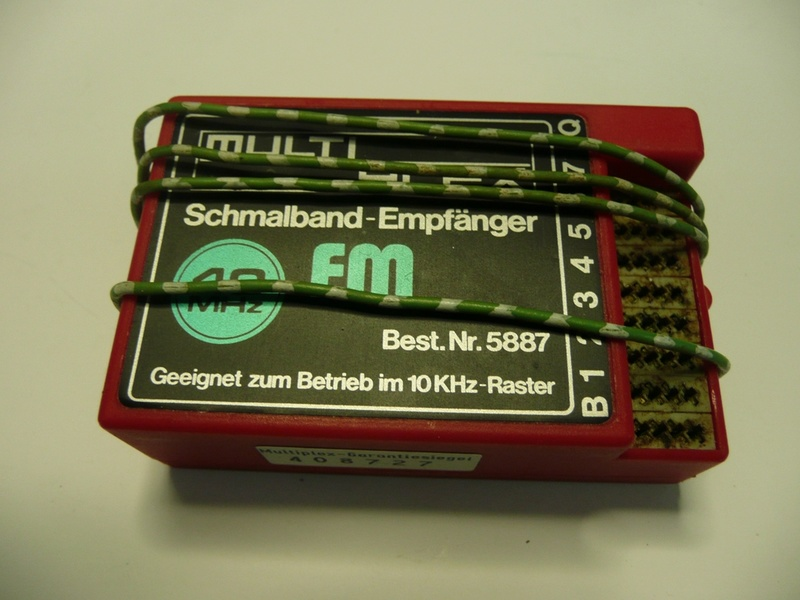 54 - RECEPTEUR POUR RADIOCOMMANDE 5410
