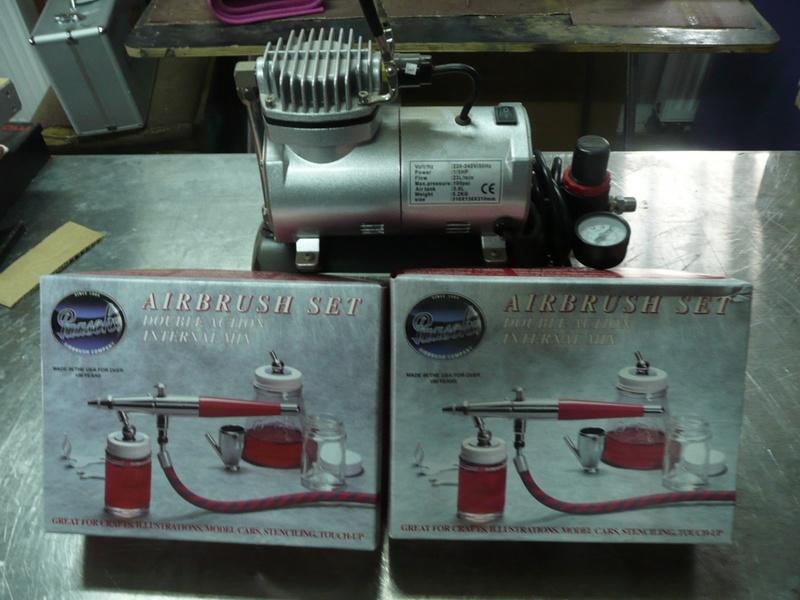 70 - KIT AEROGRAPHE COMPLET 70-1-a10