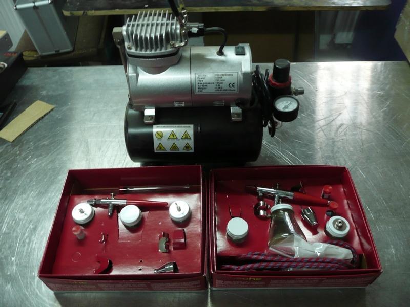 70 - KIT AEROGRAPHE COMPLET 70-2-a10