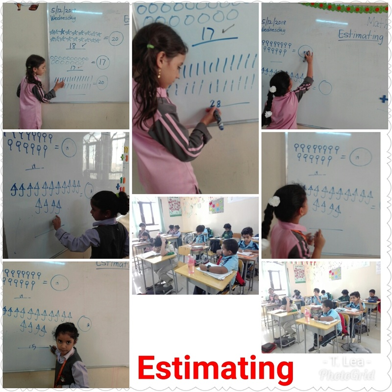 Estimating and counting  Photog15