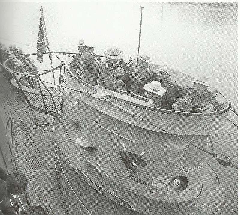 Les U-Boote, sous-marins de la Kriegsmarine Vchkit11