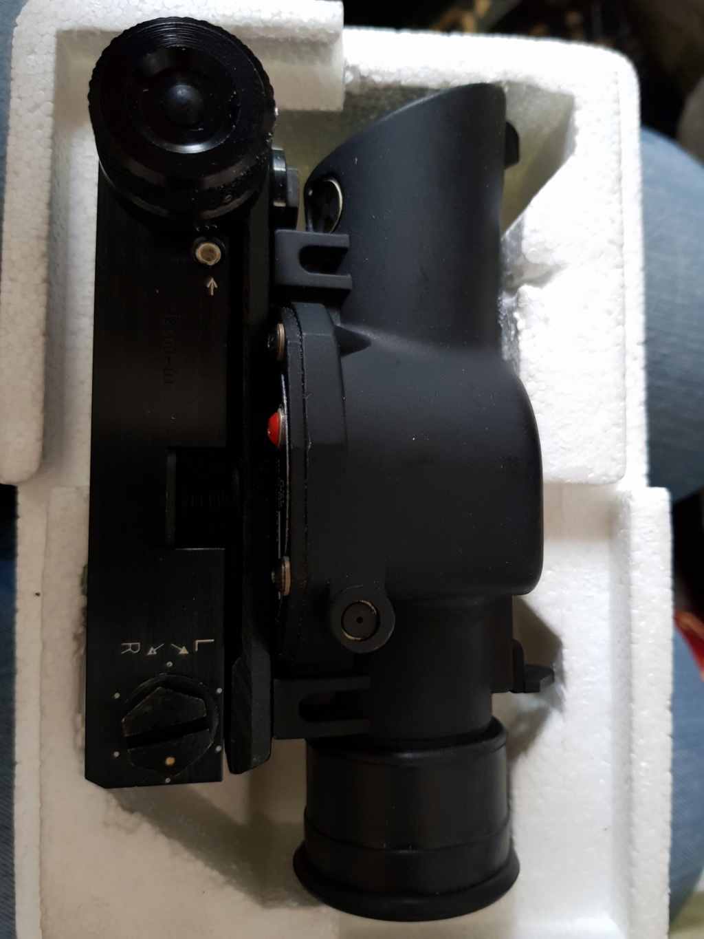 SUSAT Scope with Muller mount, 'new old stock' new and unused! Susat_11