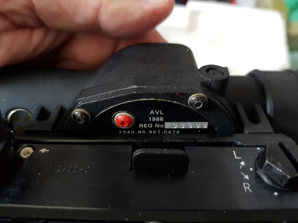 SUSAT Scope with Muller mount, 'new old stock' new and unused! Susat_12