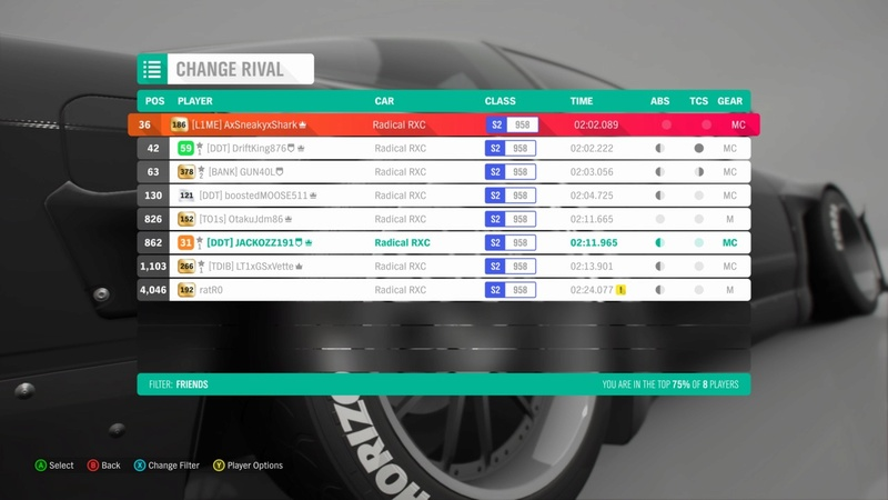 FH4 Time Attack | Road Racing Rivals - Greendale Super Sprint Image10