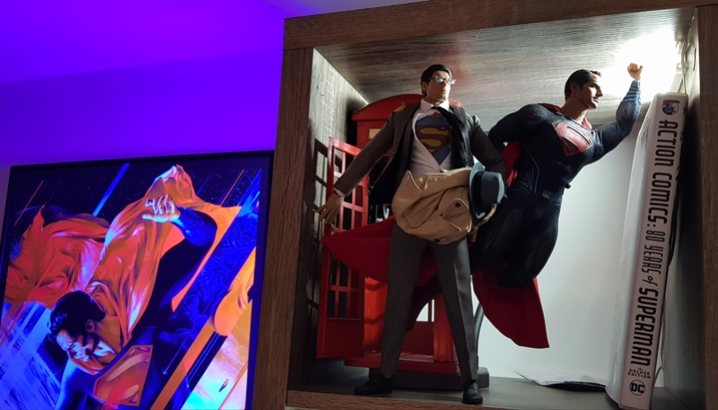 Clark Kent (1978) Superman mini-Diorama using the new TALL M36 Phicen [WIP]  20181110