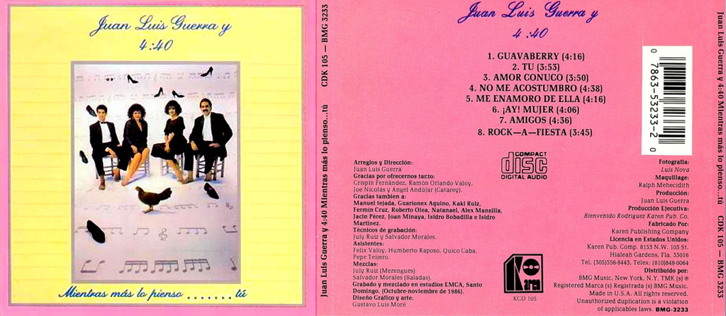JUAN LUIS GUERRA - MIENTRAS MAS LO PIENSO...TU (1987) Juan_l11