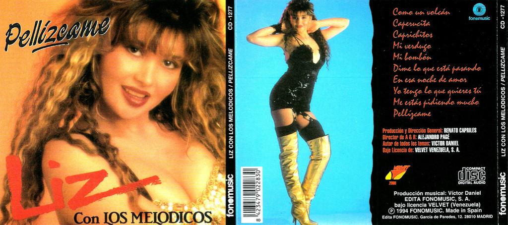 LIZ CON LOS MELODICOS - PELLIZCAME (1994) Liz_co10