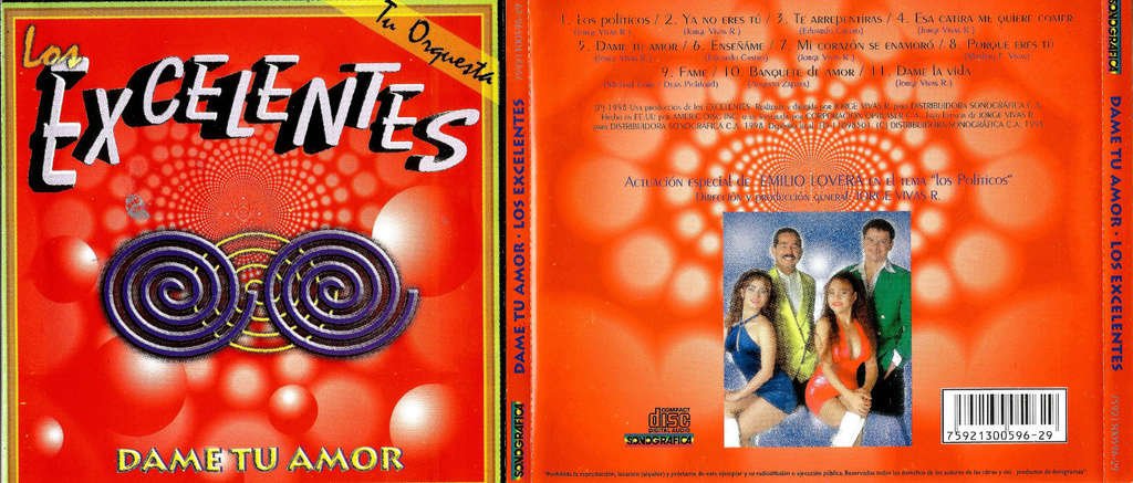 LOS EXCELENTES - DAME TU AMOR (1998) Los_ex10
