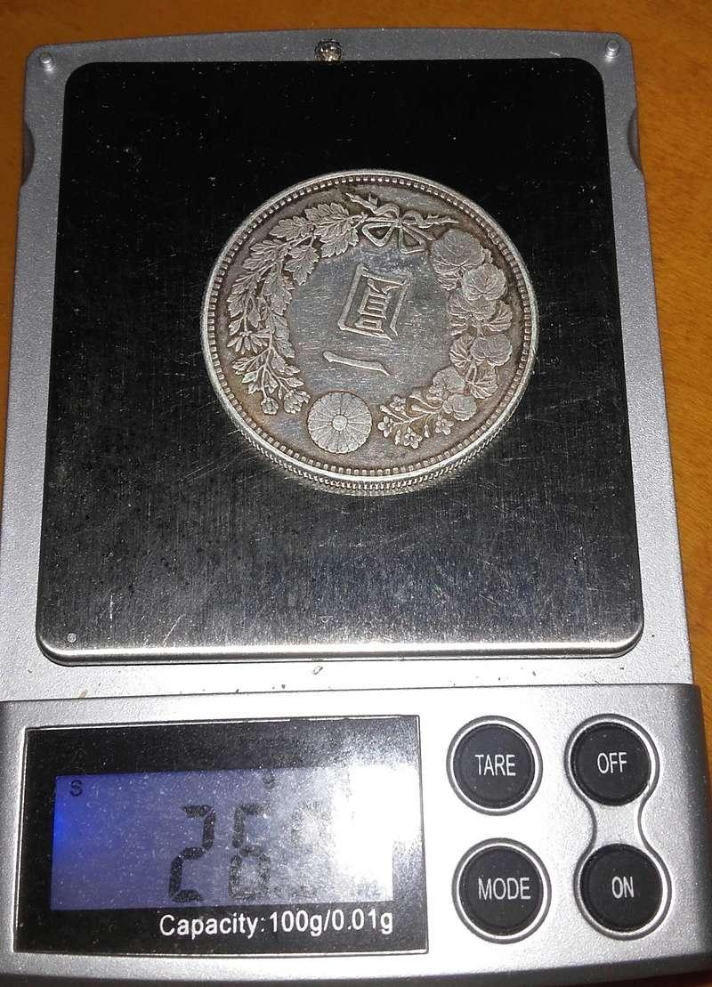 Preciosa moneda de Japon que quisiera que valorarais. 20181224