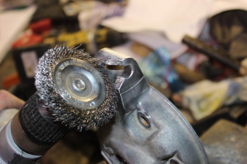 Réparation d'une patte de culasse cassée. Ph02_i34
