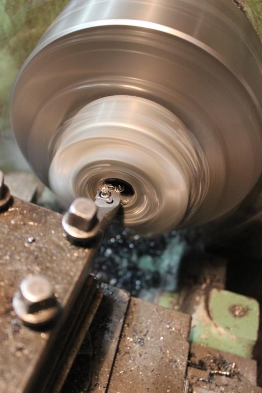 2020/12 Modification d'un cône de rotor d'alternateur Ph06_i45