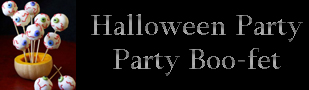 Halloween Party Boo-fet