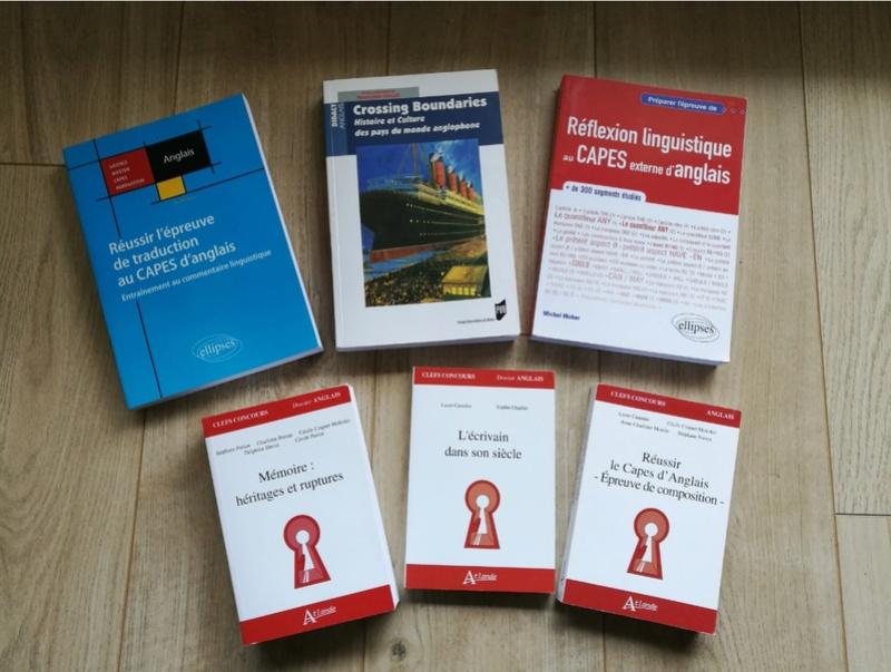 Vente de livres pour la préparation au CAPES externe anglais  Livres11