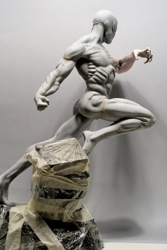 Transfo statue Spiderman au 1/6ème Spider13