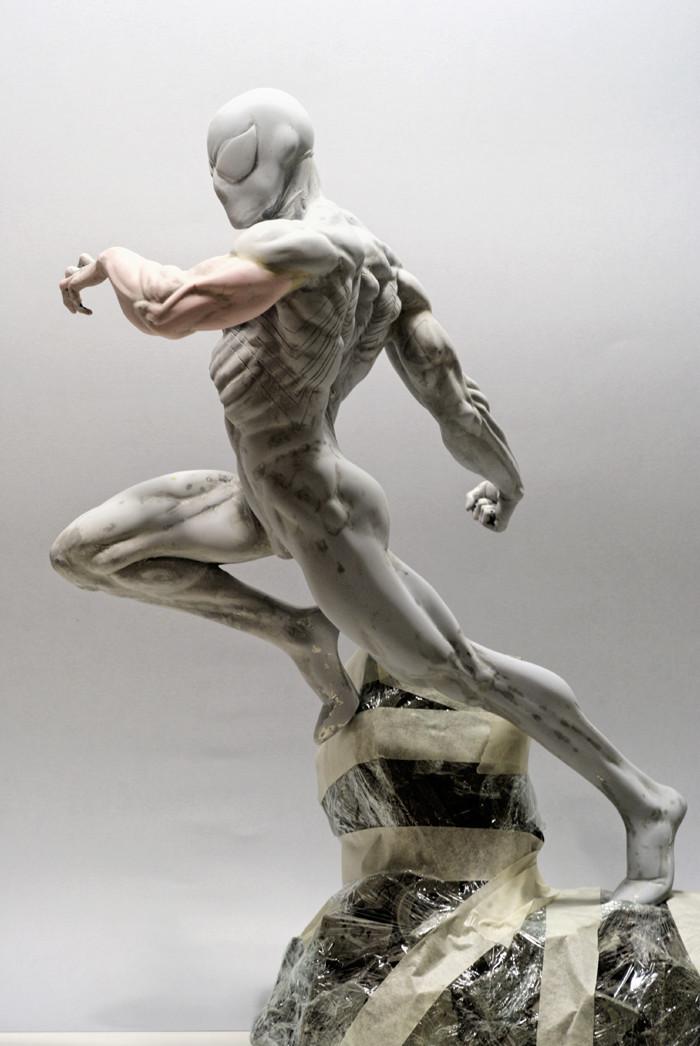 Transfo statue Spiderman au 1/6ème Spider14