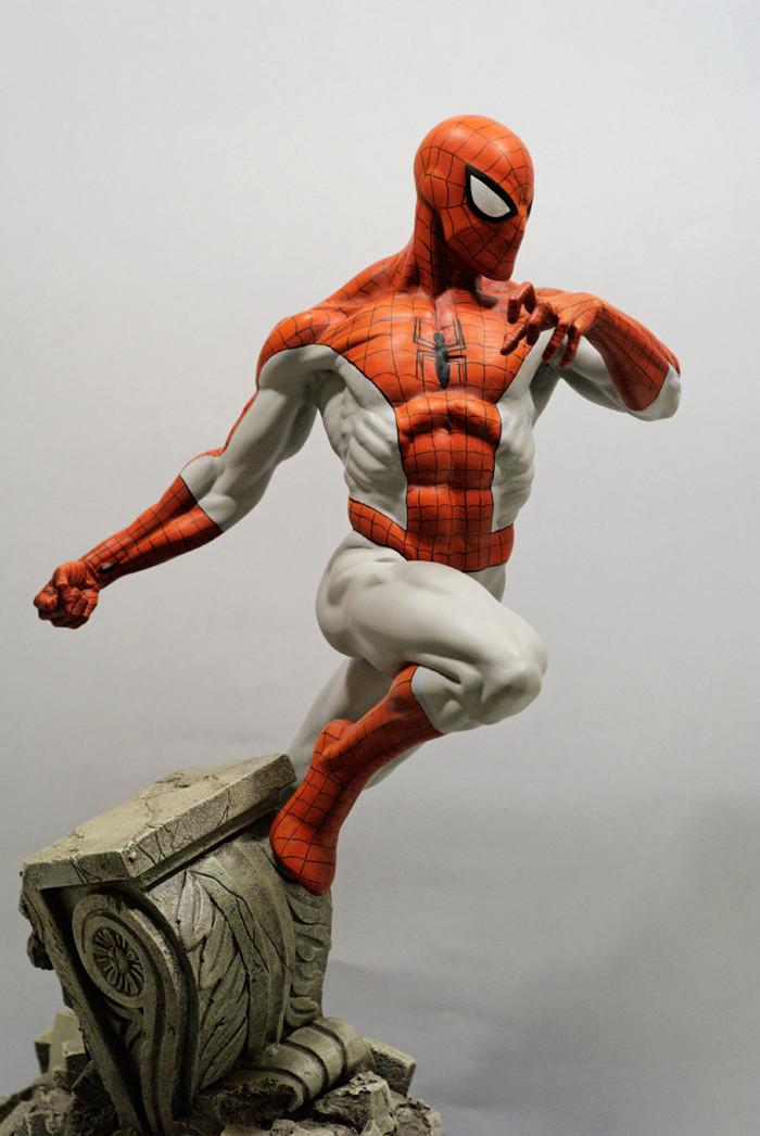 Transfo statue Spiderman au 1/6ème Spider16
