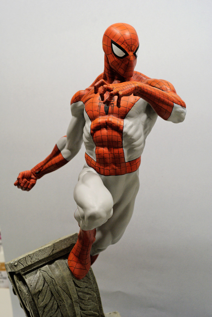 Transfo statue Spiderman au 1/6ème Spider17