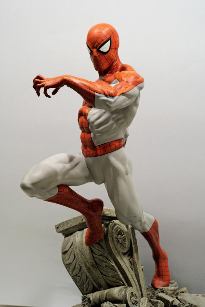Transfo statue Spiderman au 1/6ème Spider18