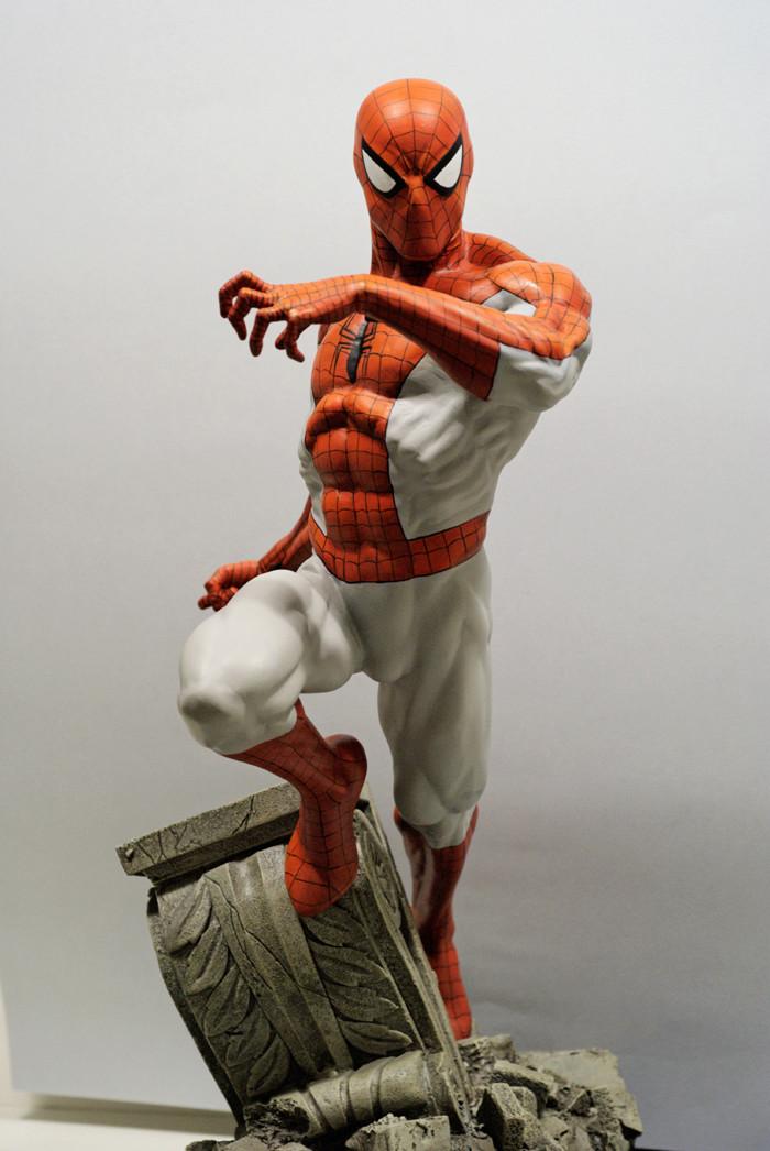 Transfo statue Spiderman au 1/6ème Spider19