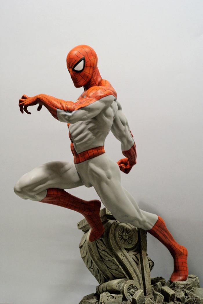 Transfo statue Spiderman au 1/6ème Spider21