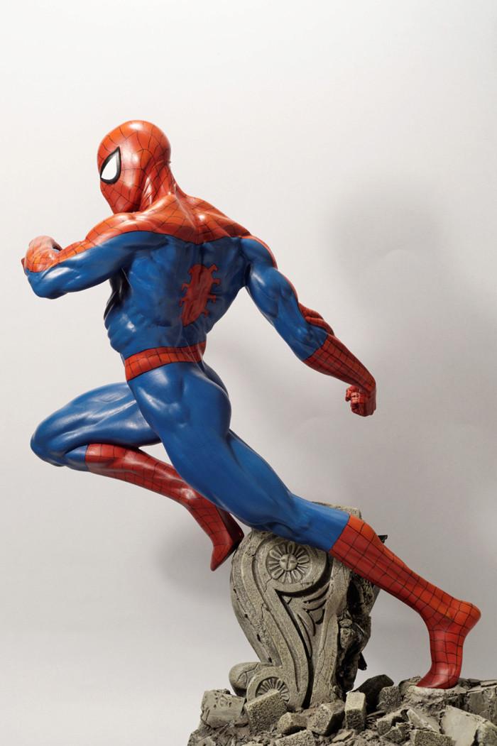 Transfo statue Spiderman au 1/6ème Spider22