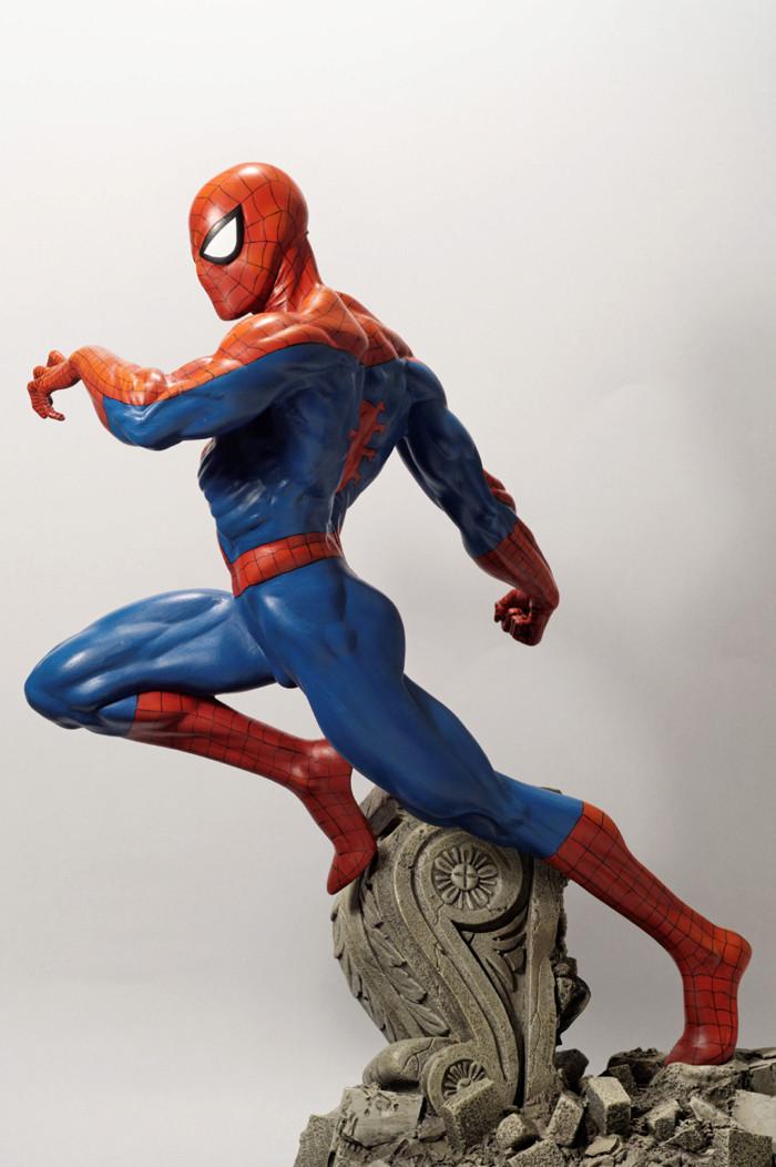 Transfo statue Spiderman au 1/6ème Spider23