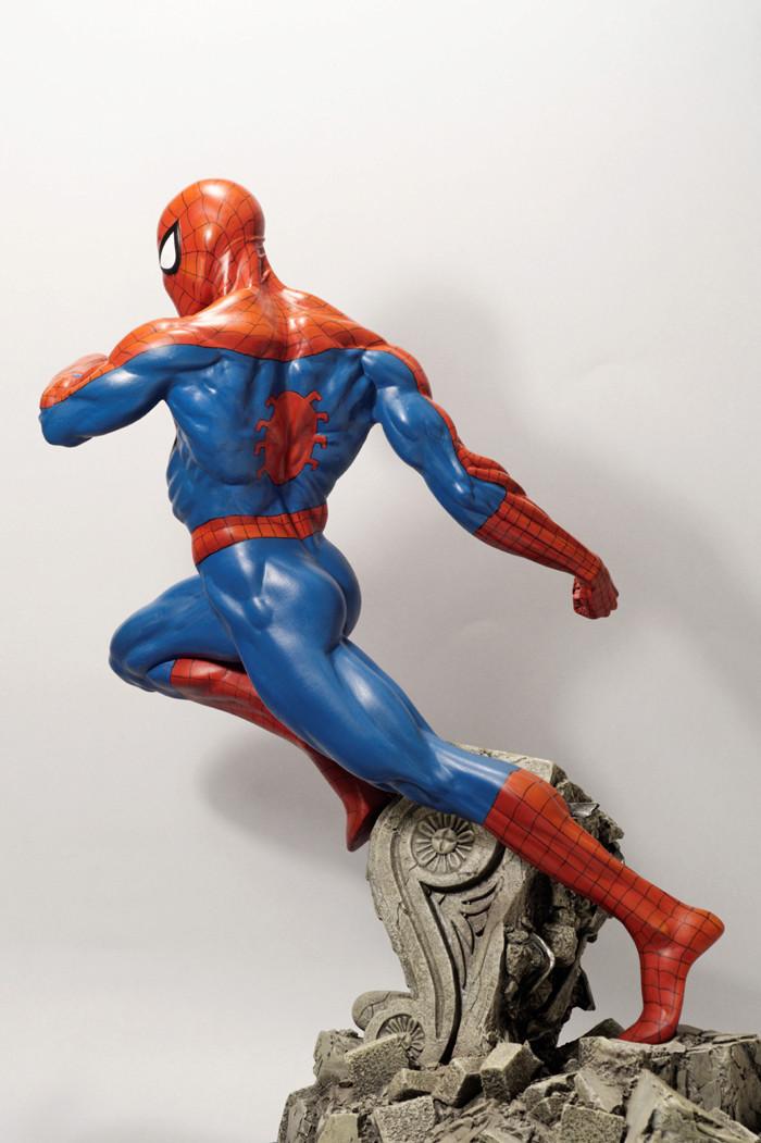 Transfo statue Spiderman au 1/6ème Spider24