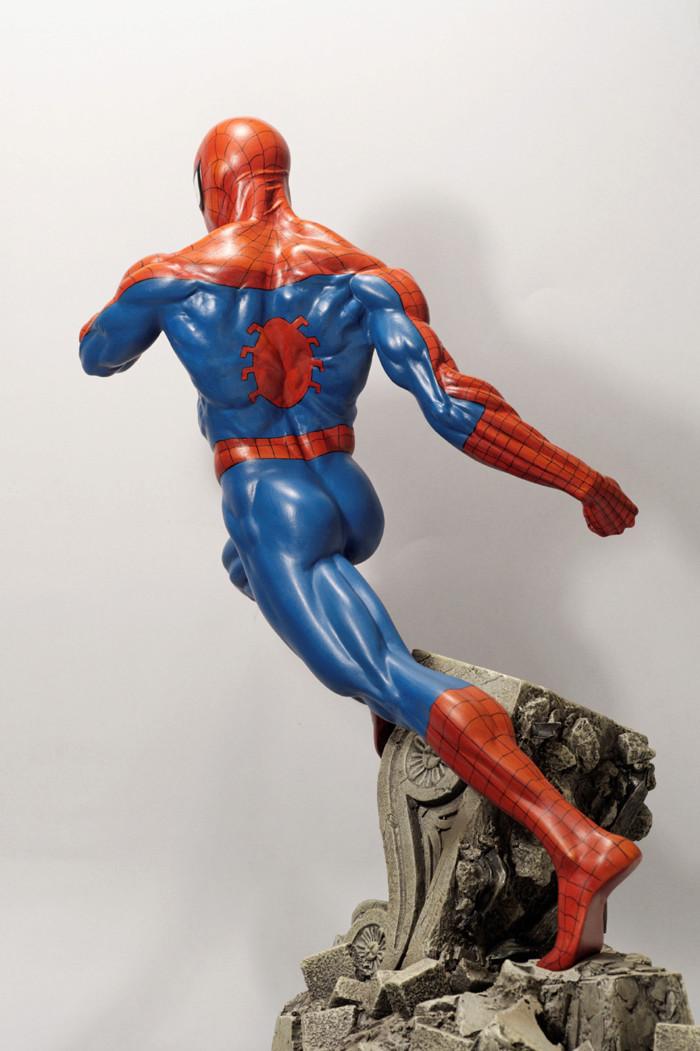 Transfo statue Spiderman au 1/6ème Spider25