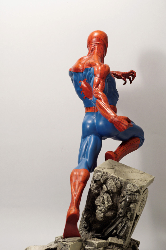 Transfo statue Spiderman au 1/6ème Spider28