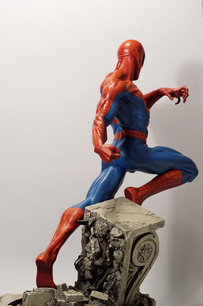 Transfo statue Spiderman au 1/6ème Spider29