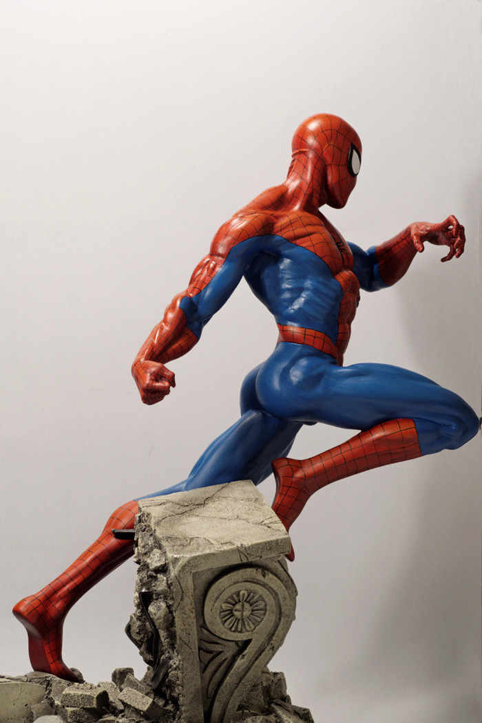 Transfo statue Spiderman au 1/6ème Spider30