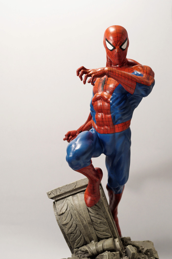 Transfo statue Spiderman au 1/6ème Spider31
