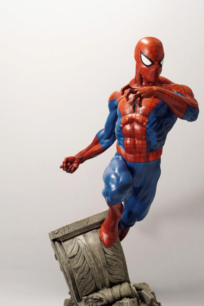 Transfo statue Spiderman au 1/6ème Spider32