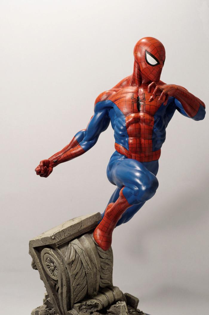 Transfo statue Spiderman au 1/6ème Spider34