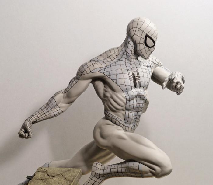 Transfo statue Spiderman au 1/6ème Spidey11