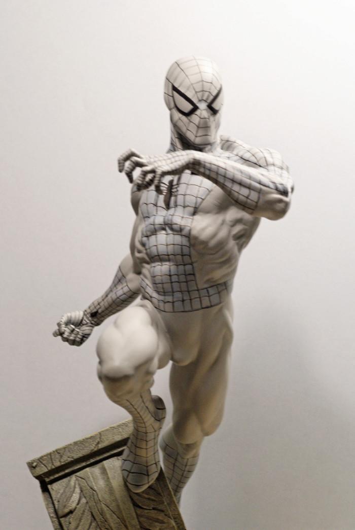 Transfo statue Spiderman au 1/6ème Spidey12