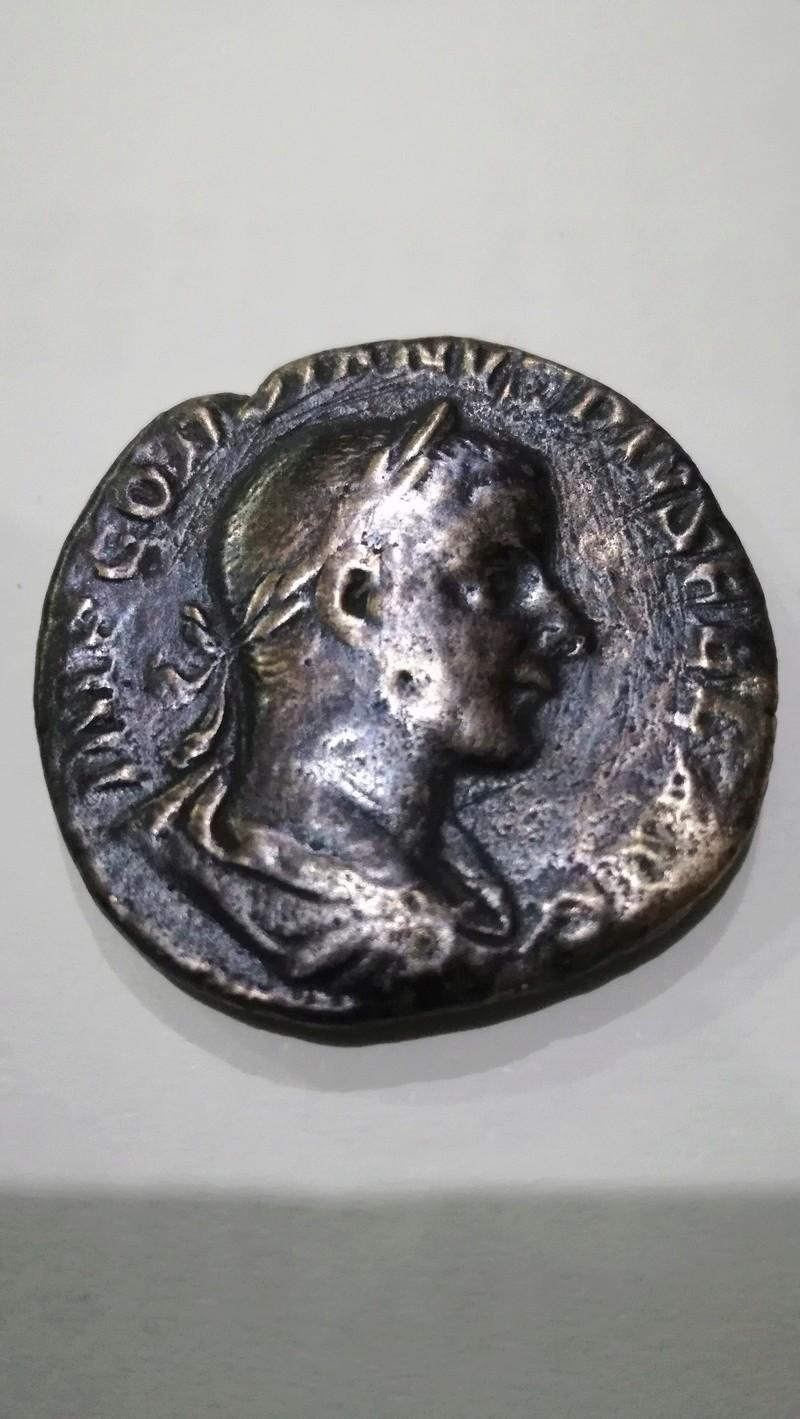 Sestercio de Gordiano III. AETERNITATI AVG. Sol a izq. Roma Img_2012