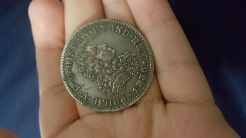 Identificación de Moneda Felipe V 20181110