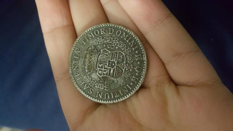 Identificación de Moneda Felipe V 20181111