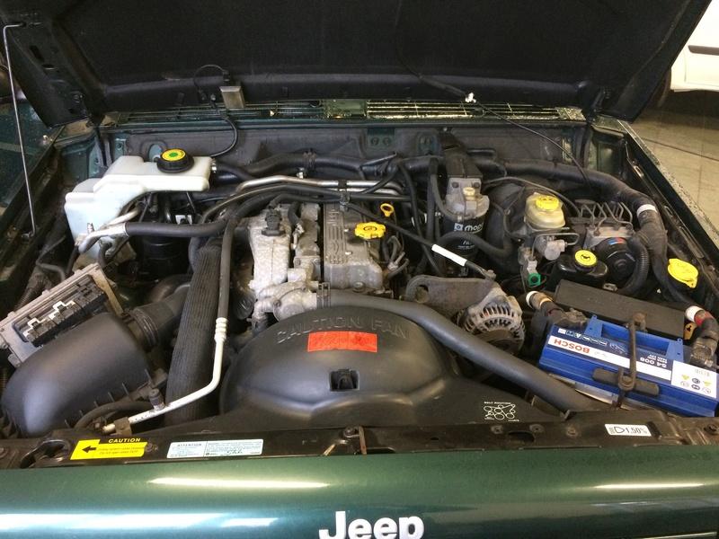 Pas de chauffage dans ma Jeep Cherokee XJ Image13