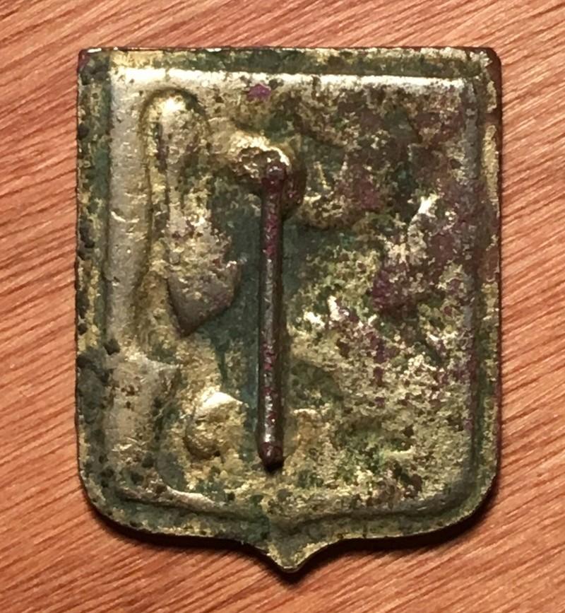 Medalla con animal y espada Img_7911