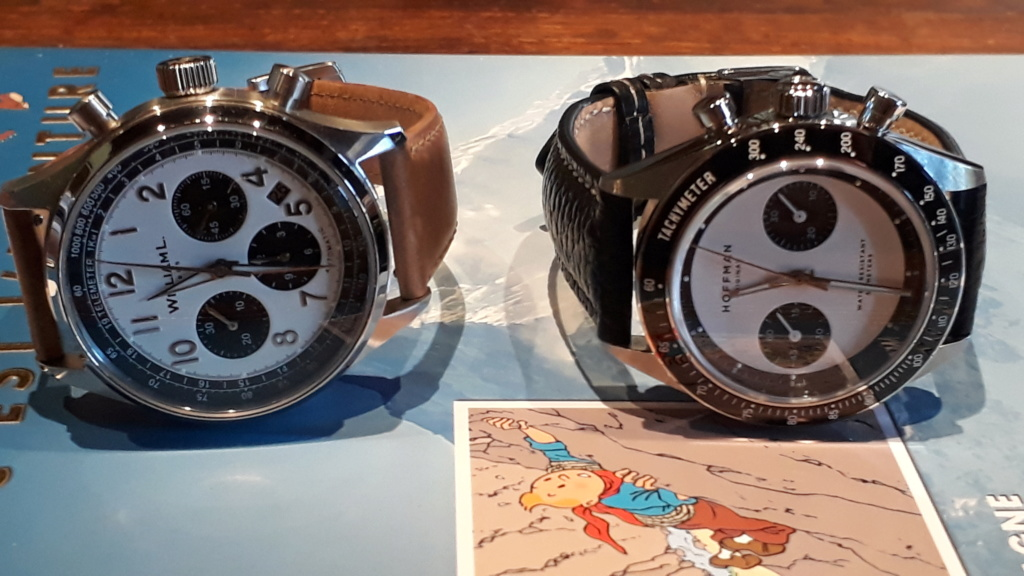 Chronographe automatique William L 1985 mouvement SEIKO NE88 ? Willia12