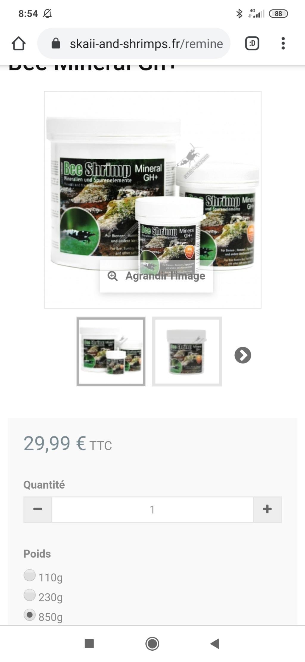 Aquarium 60 L pour crevettes prl et japonica Screen11